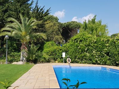 Photo for Apartment with pool in Calella de Palafrugell