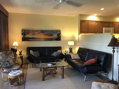 Photo for Spacious 2 Bd 2 Ba Kaanapali Condo With Gorgeous Golf Course and Sunset Views.