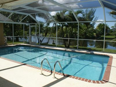 Photo for Beautiful 3/2 Pool Home on Canal with Lake Access
