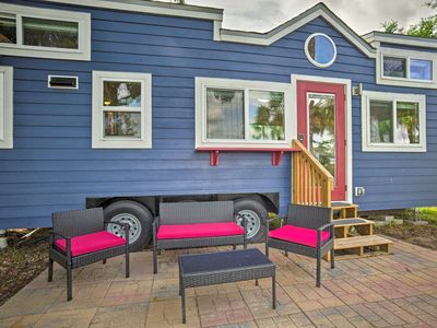 Photo for Waterfront Tiny House w/ Private Dock & Golf Cart!