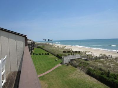 Photo for Views for Days!  Pretty condo!  Oceanfront, great pool, FREE WIFI.  Great rate!
