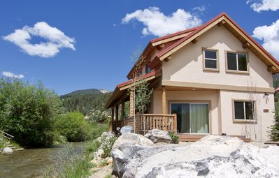 Photo for Luxury Chalet -On River w/ Best Red River Ski Area Views- 2 Living Area's!