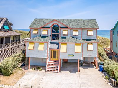 Photo for K1204 Big Daddy's. Newly Remodeled Nags Head Oceanfront Rental! Sleeps 24!