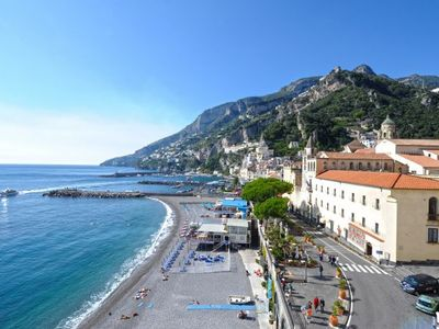 Photo for One bedroom Apartment, sleeps 4 in Amalfi with Air Con and WiFi