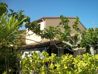 Photo for Conditioned terraced house on one side angle with large shaded terrace