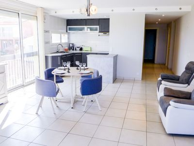 Photo for Apartment Ajoupa in Canet-Plage - 6 persons, 2 bedrooms