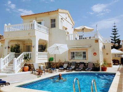 Photo for Stunning 4 bedroom villa with private pool that can sleep up to 12 persons