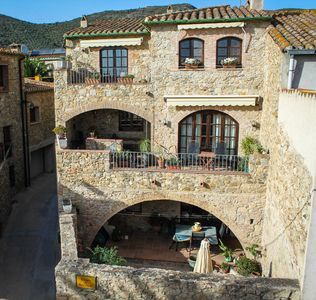Photo for Charming Stonehouse in peaceful Catalan Village perfect for family holiday