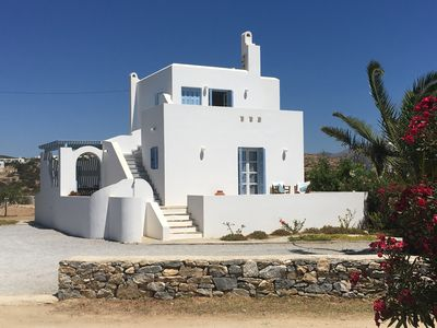 Photo for Beautiful family villa, superb views, 5 minutes walk to the beach.