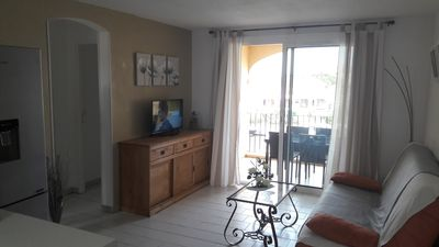 Photo for Rents T3 with terrace in residence reassured with swimming pool and place parking
