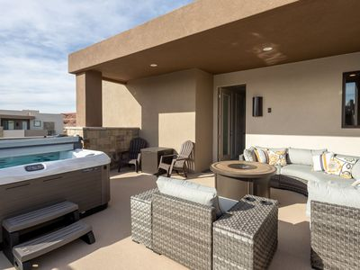 Photo for Corner Casita Spacious Home With Private Hot Tub and Pickleball-2298