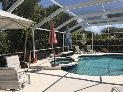 Photo for 3 br. 2 bath beach home 8 mins. from Siesta Key Beach. pool, pet friendly