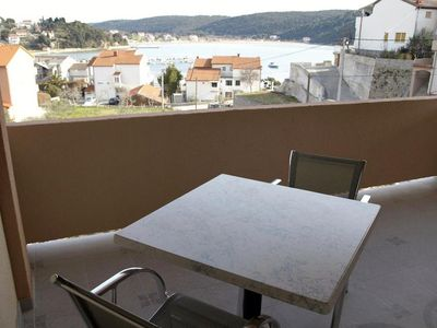Photo for Studio flat with terrace and sea view Kampor, Rab (AS-5037-c)
