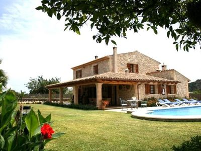 Photo for 3 bedroom Villa, sleeps 5 with Pool, Air Con, FREE WiFi and Walk to Shops