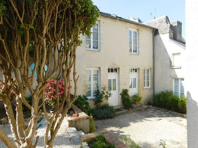 Photo for A secluded townhouse in the heart of historic Bayeux