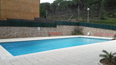 Photo for BEAUTIFUL APARTMENT 5 SEATS WITH POOL IN PLAYA DE PALS