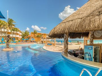 Playacar Beach, Playa del Carmen, Quintana Roo, Mexico