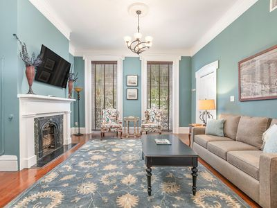 Photo for 4 Living Spaces, Full Townhome, Monterey Square, Pet Friendly