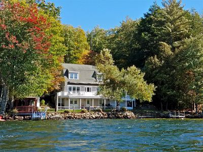 Photo for Beautiful lakefront home with breathtaking sunset views!