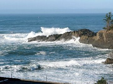 Rocky Creek State Scenic Viewpoint, Depoe Bay, OR, USA