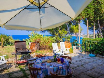 Photo for Apartment with sea view in the famous town of Mazzaforno in Cefalù.