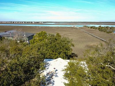 Photo for Folly Bungalow ~ Charming 2BR Cottage w/AMAZING Marsh Views