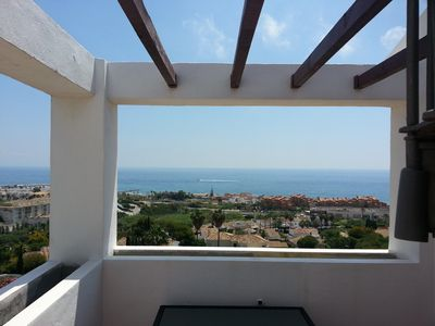 Photo for Penthouse Splendid panoramic view near the sea refurbished superéquippé