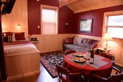 Cozy yet spacious enough for a relaxing stay