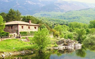 Photo for Large country houses near Madrid, for groups of 20 to 27 people, swimming pool