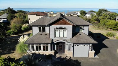 Photo for Stunning Panoramic Roads End Ocean Views 4 bedrooms, Easy Beach Access, Hot Tub