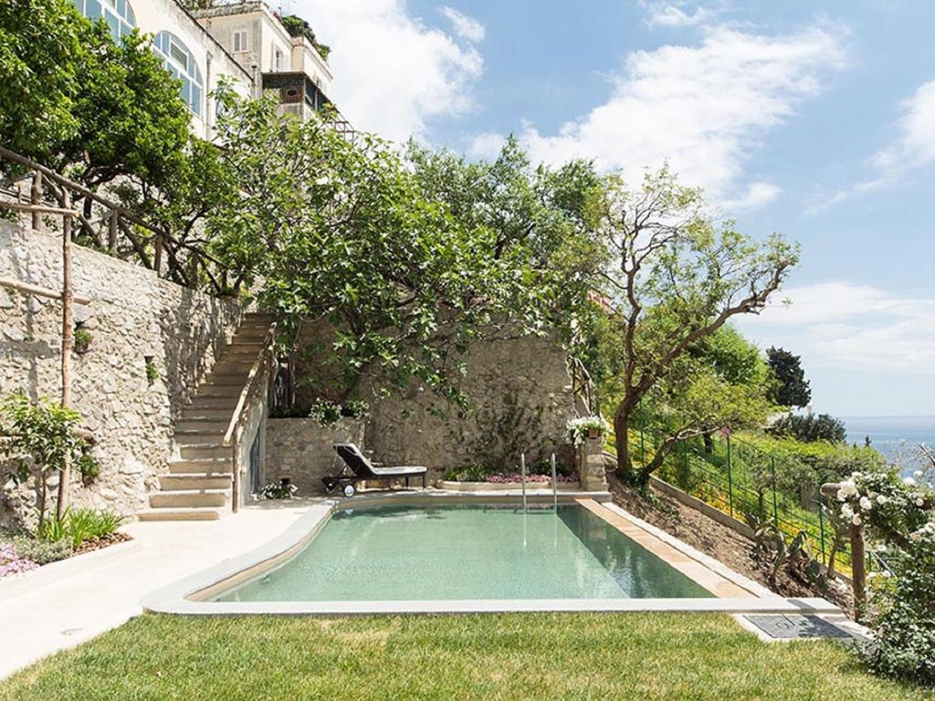 villa san giacomo, luxury villa in amalfi coast with panoramic sea