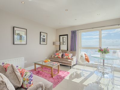 Photo for 4 Star Luxury Self Catering Apartment in Seaside Salthill Village
