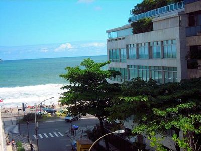 Photo for BEAUTIFUL APARTMENT IPANEMA WITH SEA VIEW POSTO 9