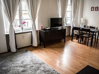 Photo for Spacious M16 apartment in Stare Miasto with WiFi & air conditioning.