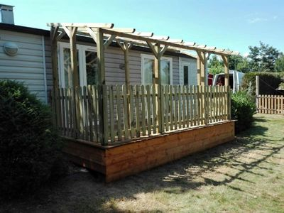 Photo for Mobile home mobile home with terrace