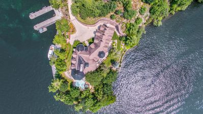 Photo for Eagle Point Luxury Estate, 8 Bedrooms, Lakefront
