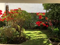 The home is quaint, comfortable, well equipped, artsy, very nice garden