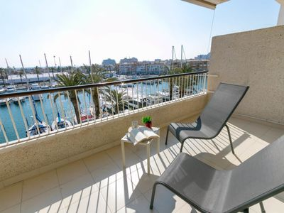 Photo for Empuriabrava Apartment, Sleeps 5 with Air Con and Free WiFi
