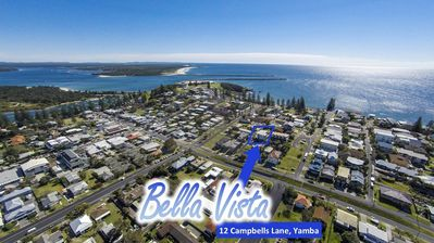 Photo for ZZBella Vista on Yamba Hill, 300m to Main Beach surf & rock pool