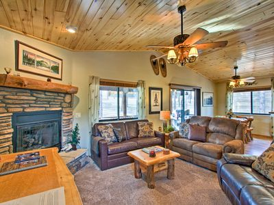 Photo for Honeybear Hollow Romantic Getaway Cabin in Forest!