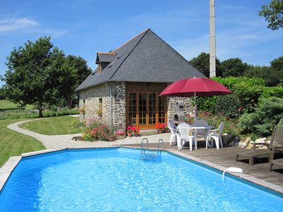 Photo for Luxury Detached Barn Conversion with heated swimming pool and WIFI