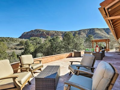 Photo for Secluded Sedona Home w/Patio & Red Rock Views