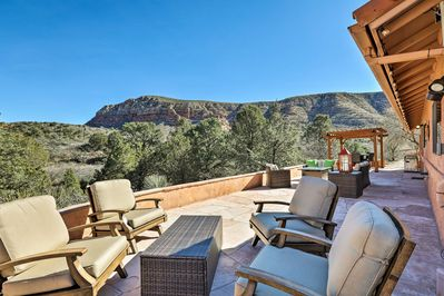 Fall in love with Red Rock Country from this spectacular Sedona home!