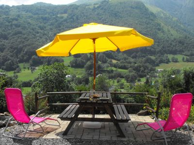 Photo for Nice house classified 3 stars. Panoramic views of the peaks of Val d'Azun
