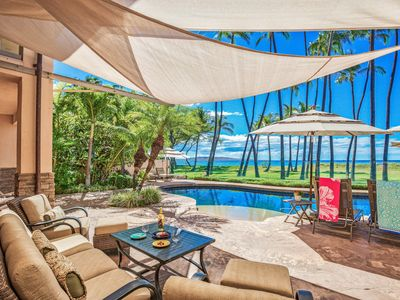 Photo for BEACHFRONT SOUTH MAUI HOME - MODERN, FRESH WITH ALL AMENITIES!
