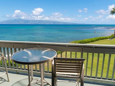 Photo for Great Family Deal! Clean Ocean Front 3 Bdrm at Kahana Outrigger