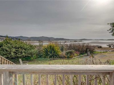 Photo for Panoramic Views of Sparkling Siletz Bay from this Inviting, Sunny Cottage!