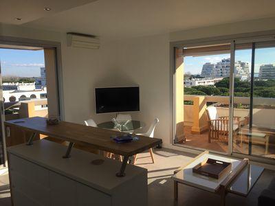 Photo for ** SUPERB APARTMENT SEA VIEW *** SWIMMING POOL *** PARKING ****