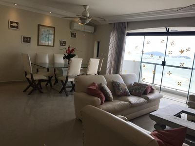 Photo for Apartment in Cond. Foot in the Sand - Guarujá