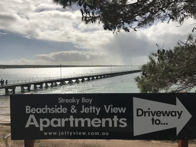 Photo for Beachside & Jettyview Apartments ( Captains Apt)